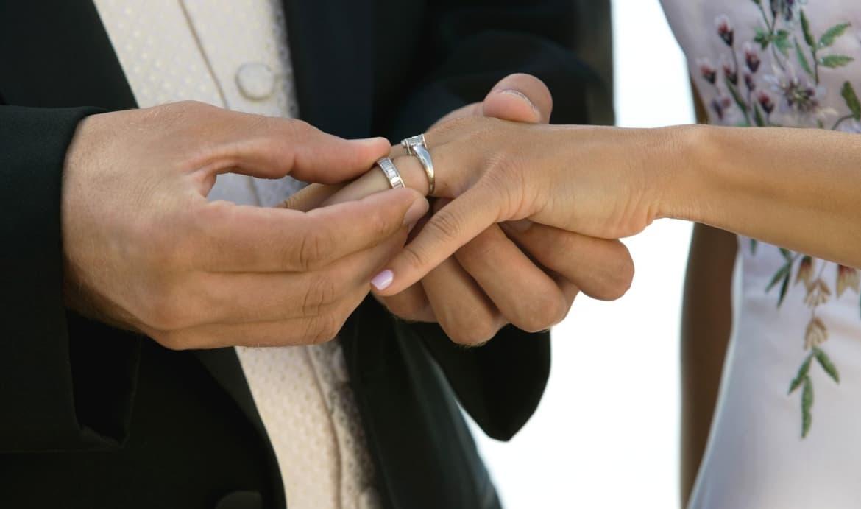 Bruiloft aan boord