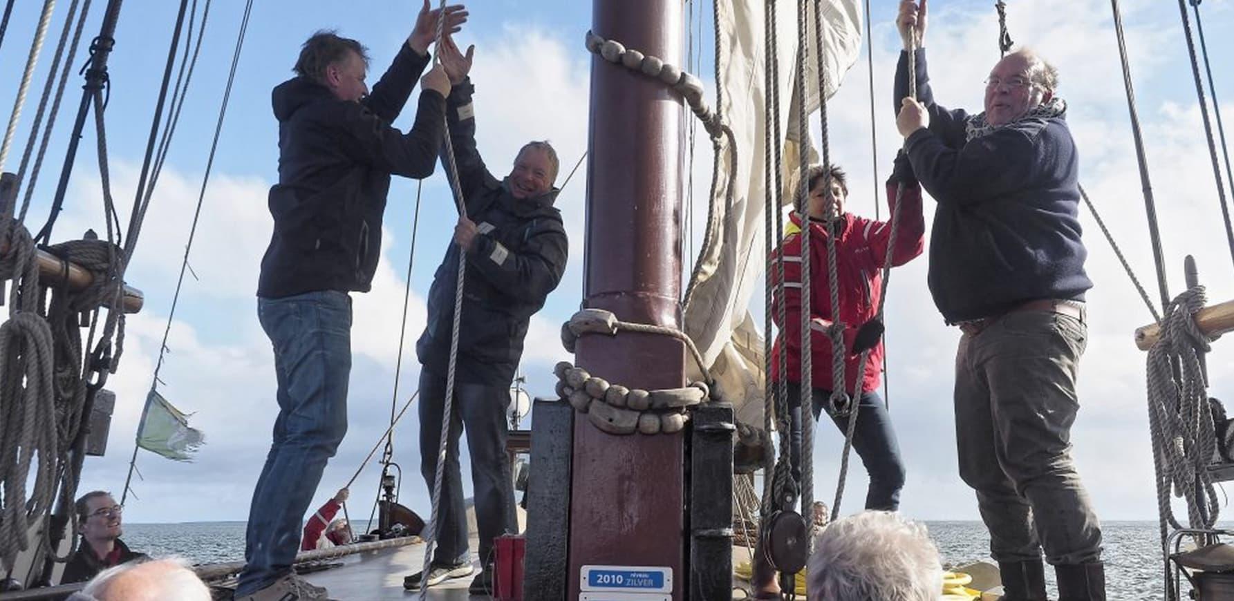 Meezeilen met Boekanier op Waddenzee
