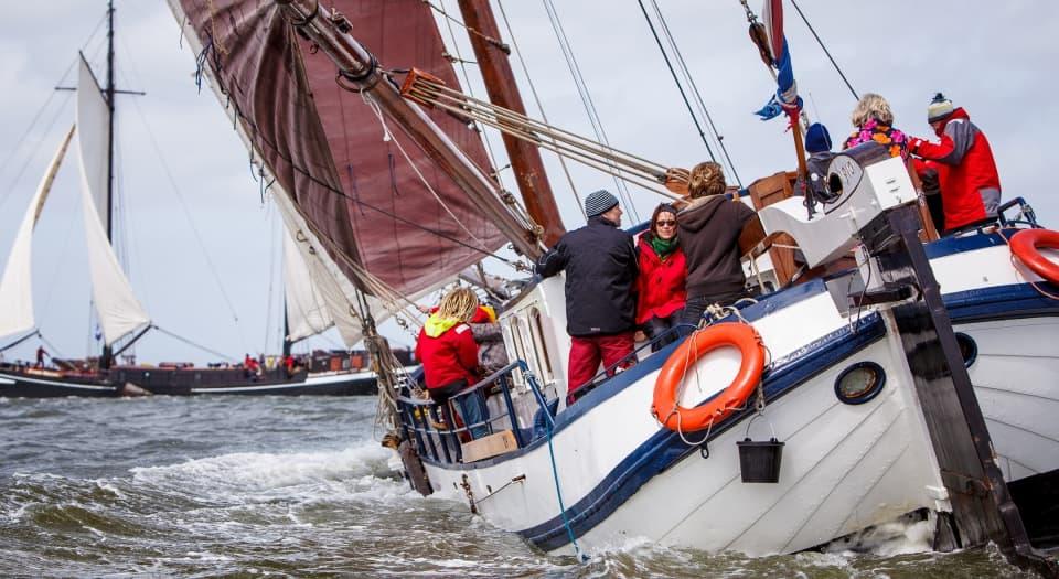 Bootfeest op zeilschip Antonia Maria