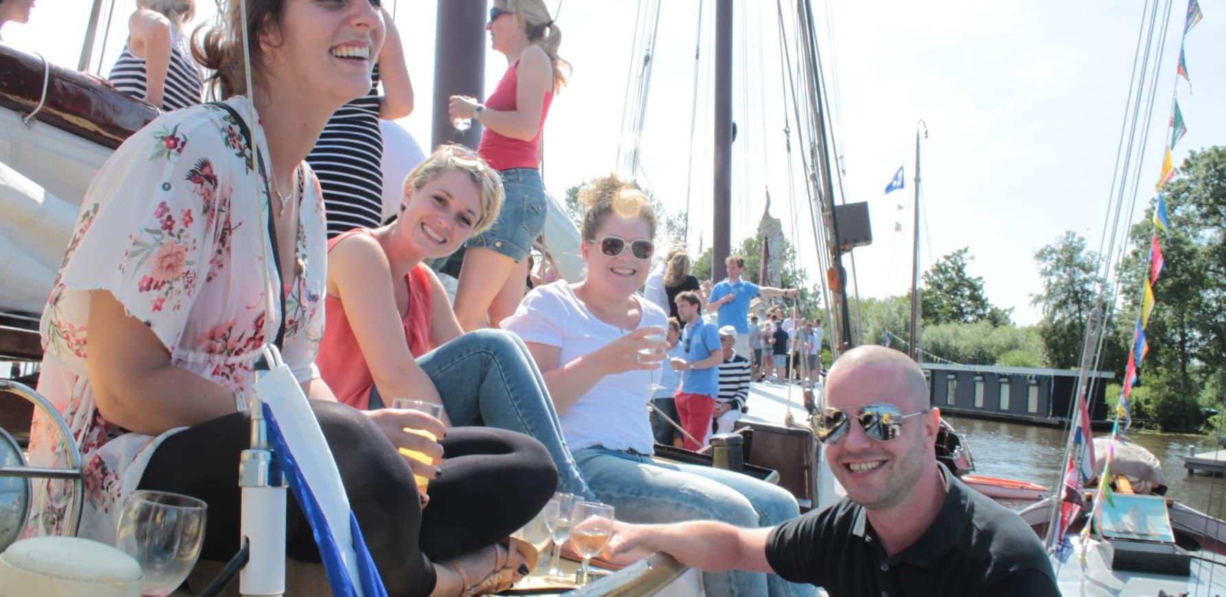 Bootfeesten in Friesland