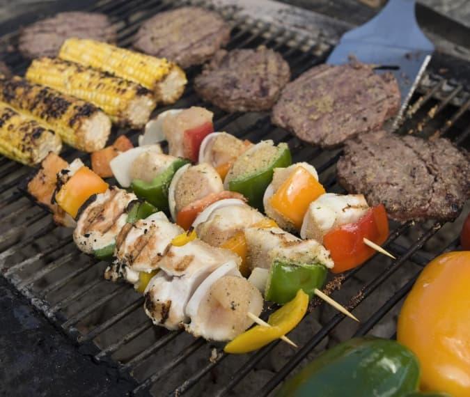 Dagarrangement barbecue