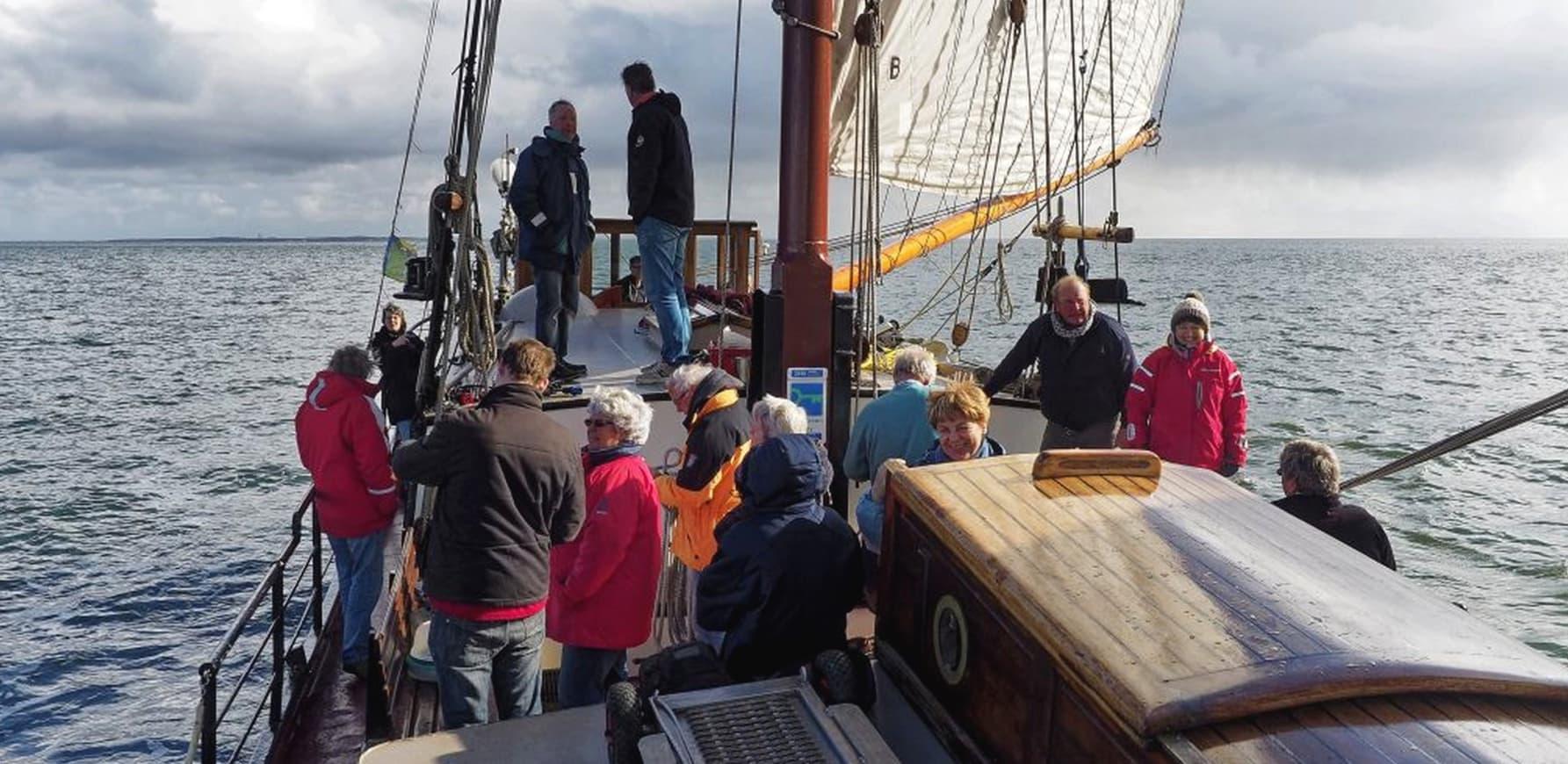 Teambuilding activiteiten op zeilschip