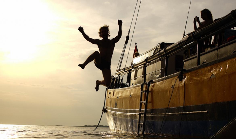 Schoolreisje op het IJsselmeer