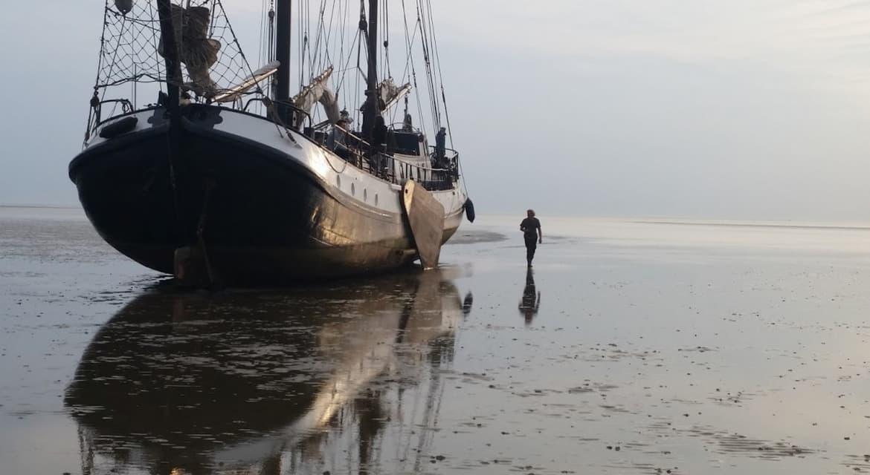 zeilboot eersteling