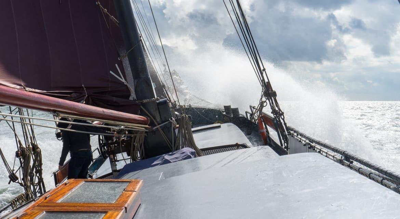 tweemasterklipper noordvaarder zeilboot