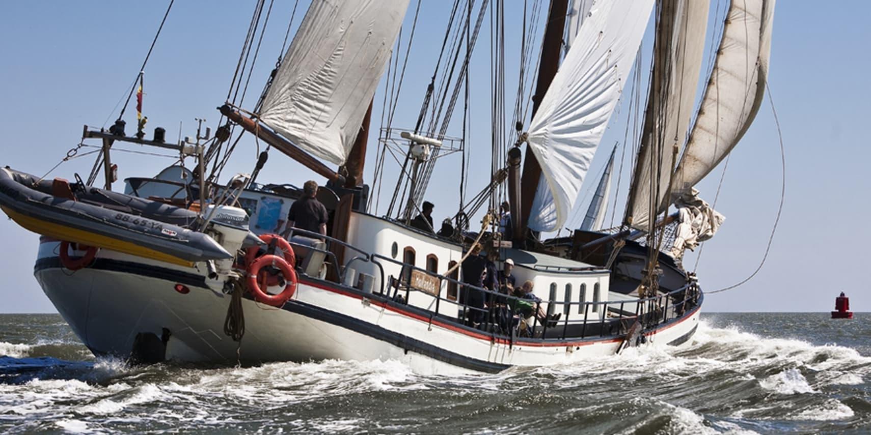 zeilboot klipper hollandia